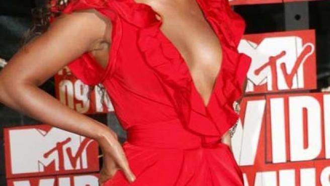 Beyoncé en los 'MTV Video Music Awards 2009'.