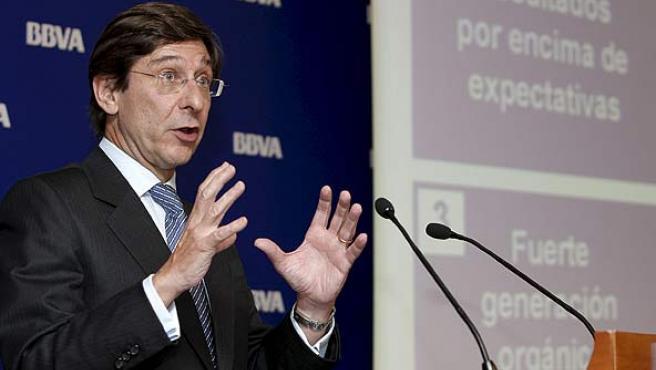 El consejero delegado del BBVA, José Ignacio Goirigolzarri, fotografiado el 28 de julio de 2009.