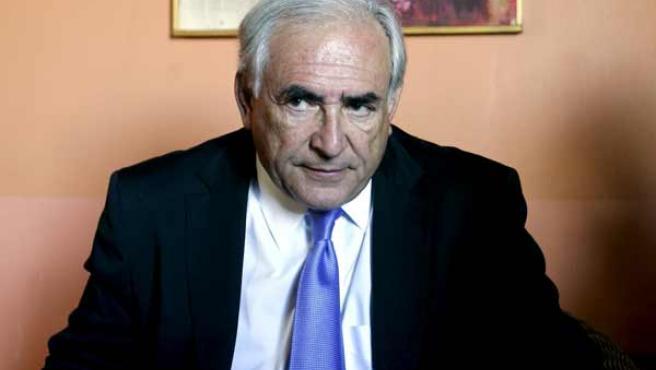 Dominique Strauss-Kahn, director gerente del FMI.
