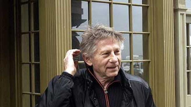 El director de cine Roman Polanski, en un rodaje.