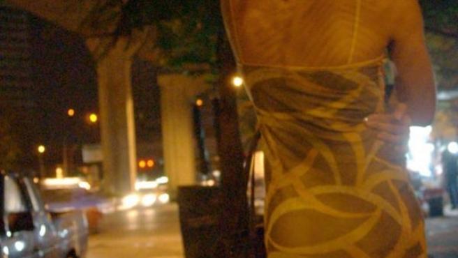 El 20% de las prostitutas en España trabajan en la calle.