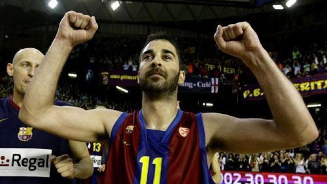 El escolta del Regal Barcelona, Juan Carlos Navarro.