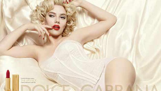 Scarlett Johansson, en una campaña publicitaria.