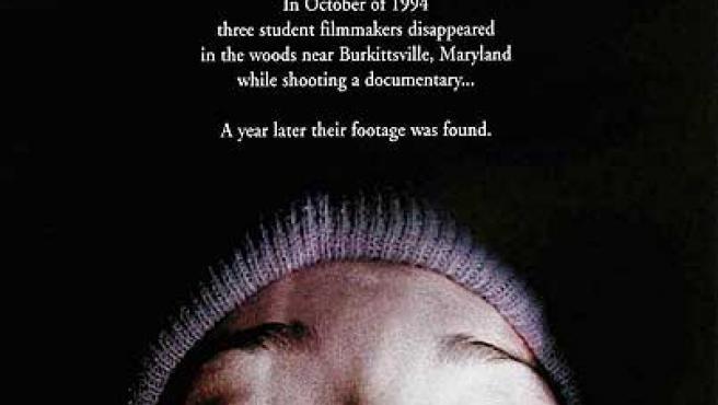 El cartel de la película 'El proyecto de la bruja de Blair'.