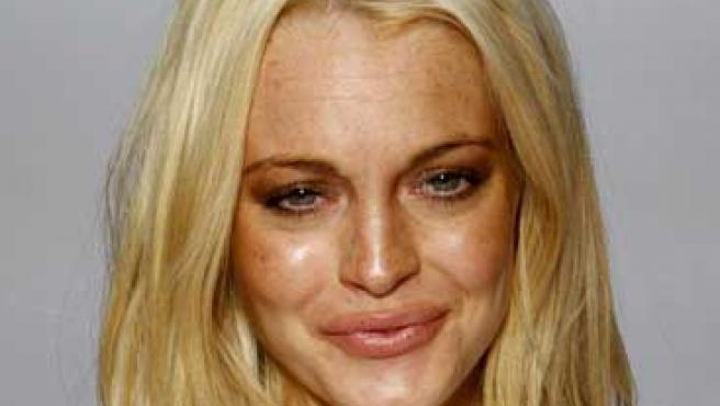 Lindsay Lohan, irreconocible.