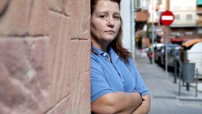 Esther Rins, de 32 años, es empleada de hogar.
