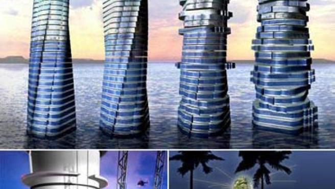 La Rotating Tower será el primer edificio giratorio que se construye en el mundo.