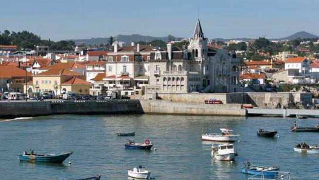 Puerto de Cascais, en la Riviera portuguesa.