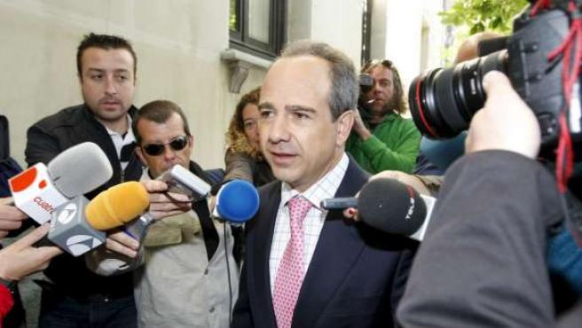 El ex alcalde de Boadilla del Monte Arturo González Panero.