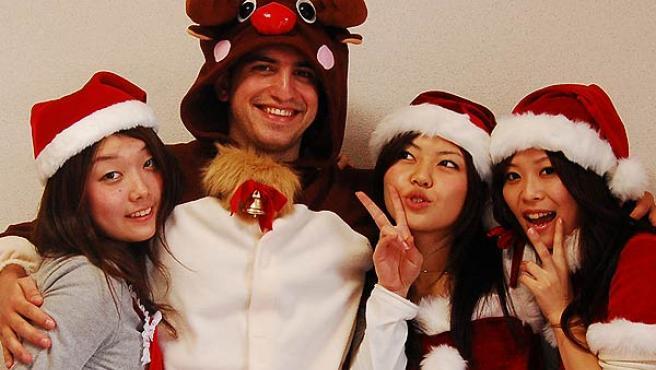David Esteban y sus colaboradoras de 'Japoneando' enseñan hasta a felicitar la Navidad en japonés.