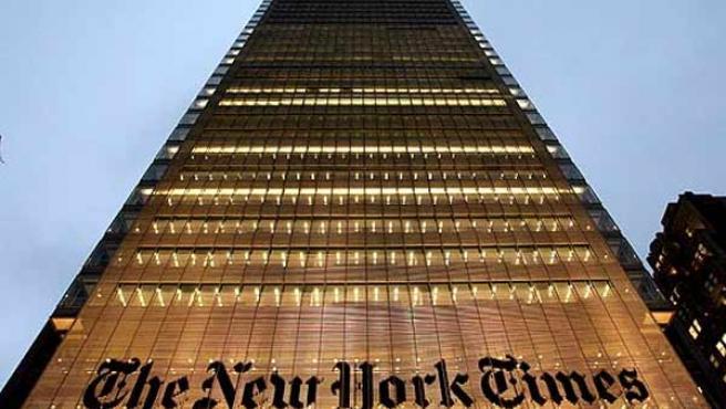 La sede de 'The New York Times', en Nueva York.