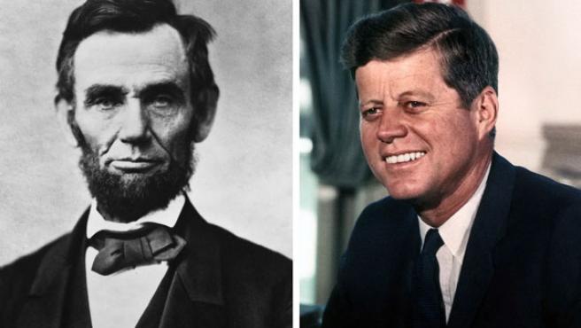 Abraham Lincoln y John F. Kennedy.