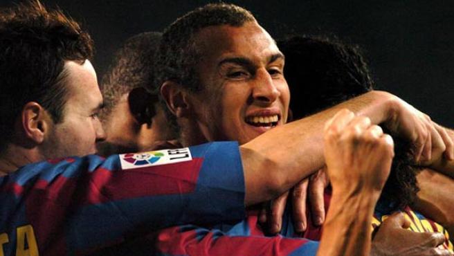 Larsson, en su época de jugador del Barça.