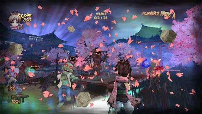Imagen de Zombie Panic in Wonderland.