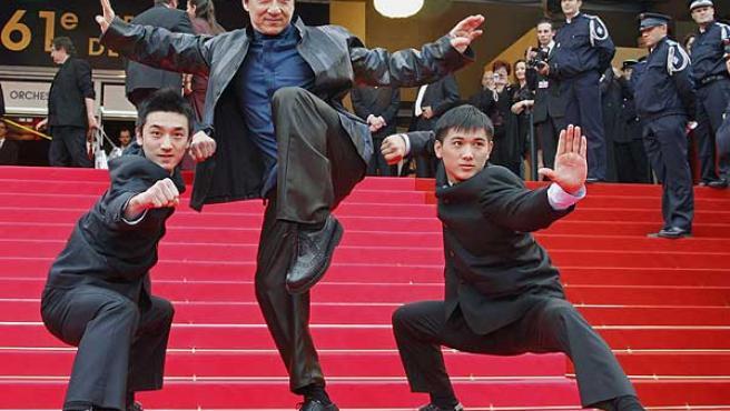 Jackie Chan, en la presentación de su última película.