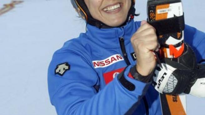 María José Rienda, en una imagen de archivo.