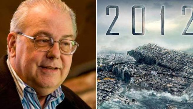A la izquierda, David Morrison, científico de la NASA; a la derecha, imagen promocional de la película.