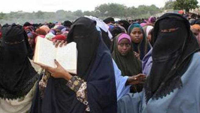 Mujeres somalíes.