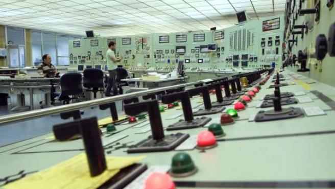 Instalaciones de la central Nuclear de Santa María de Garoña, en Burgos