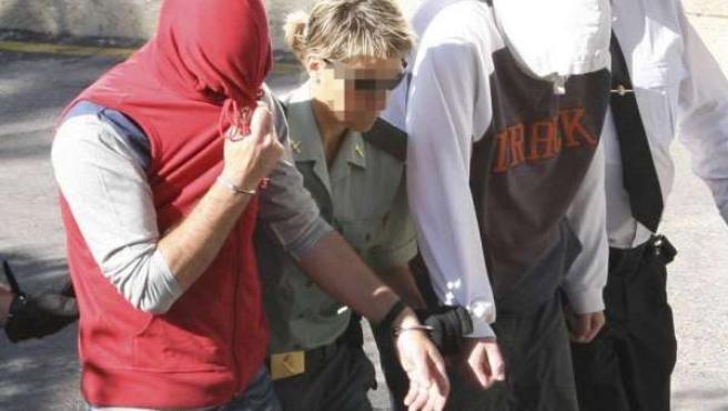 Dos de los acusados del caso 'Nanysex', en una foto de archivo.