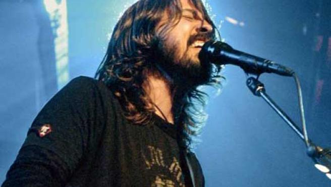Dave Grohl, líder de los Foo Fighters.