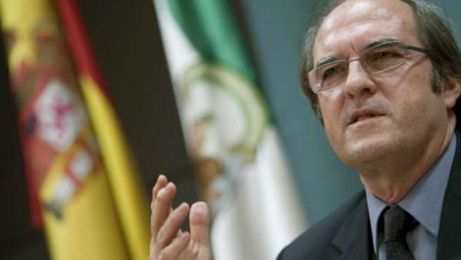 El ministro de Educación, Ángel Gabilondo.