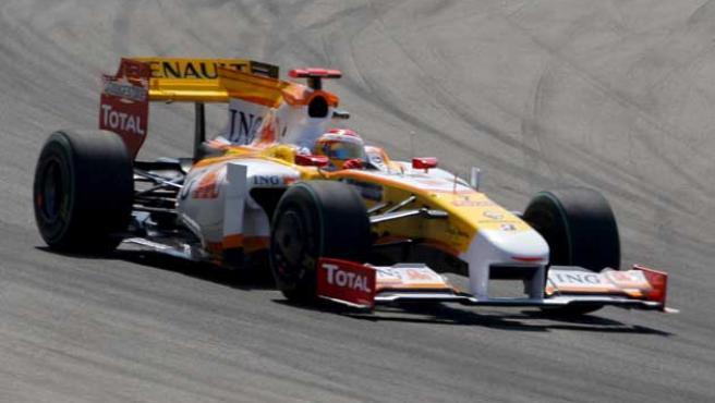 Alonso, en su R29