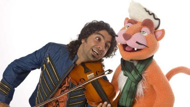 El violinista Ara Malikian, presentador de 'El club de Pizzicato'.