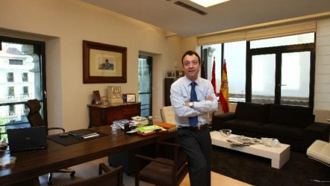 El vicealcalde de Madrid, Manuel Cobo.