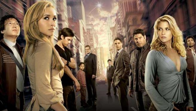 Imagen promocional de la serie 'Héroes'.