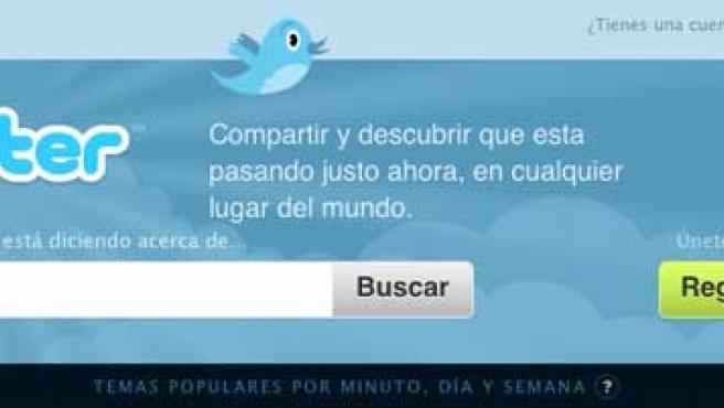Twitter en español.