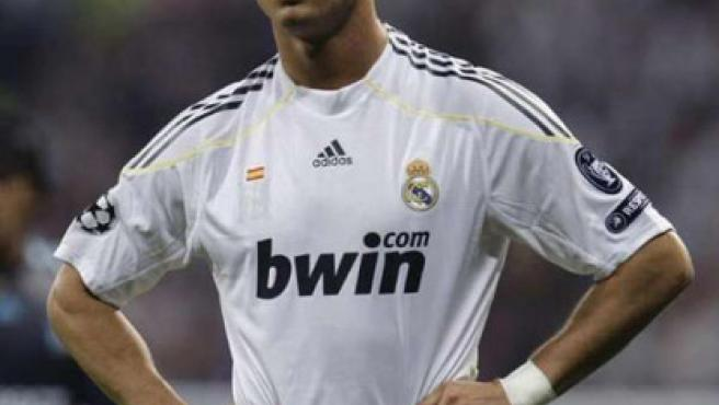 El portugués del Real Madrid, Cristiano Ronaldo.