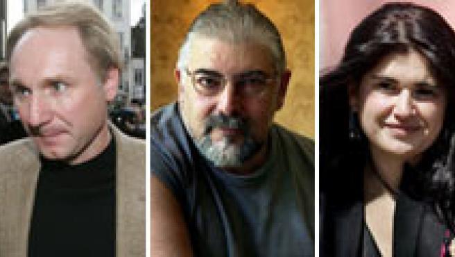 Camilo José Cela, Alfredo Bryce Echenique, Dan Brown, Jorge Bucay, Lucía Etxebarría, Stephen King y John Milton.