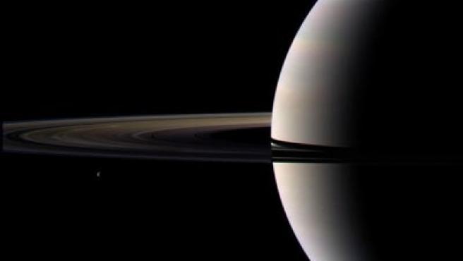 Saturno tras el equinocio.