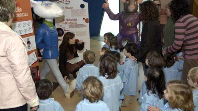 Un grupo de niños durante una actividad en una guardería. (ARCHIVO)