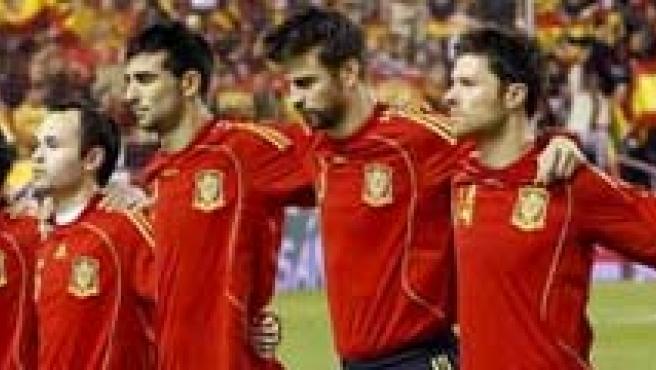 Imagen de la selección española de fútbol