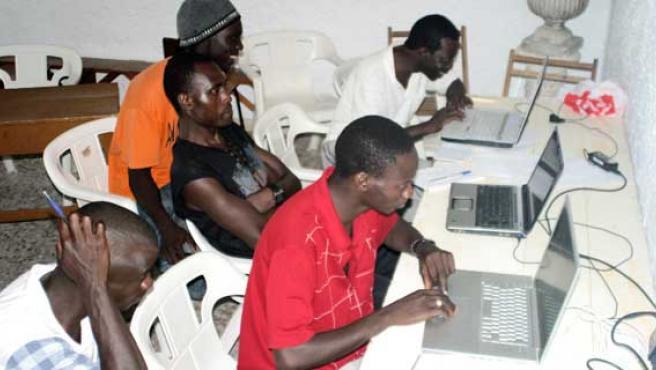 África es el lugar en el que más se acusa la brecha digital.