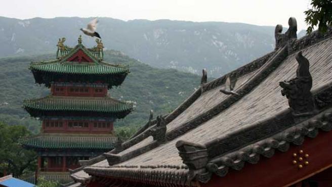 El Templo de Shaolin es, cada vez más, una atracción turística.