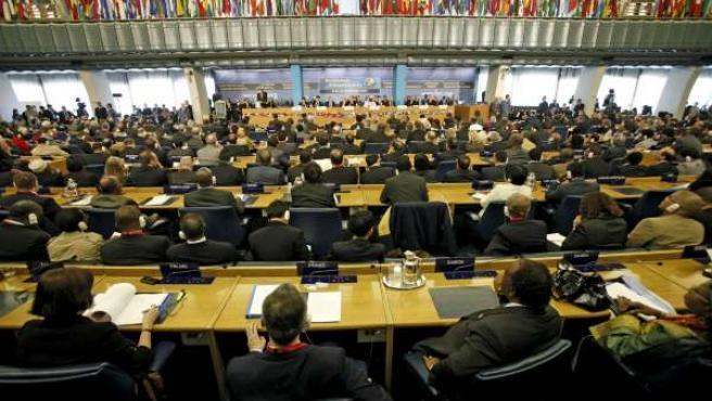 Los delegados de la Cumbre Mundial sobre Seguridad Alimentaria en Roma.