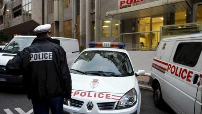 La comisaría de Mónaco en la que se ha entregado Tony Musulin.