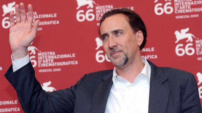 Nicolas Cage, en el Festival de Cine de Venecia.