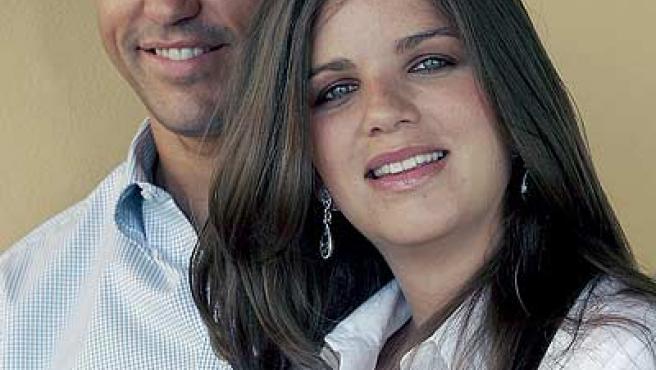 Luis Alfonso de Borbón y su esposa, Margarita de Vargas, duques de Anjou, en una imagen de archivo de marzo de 2007.