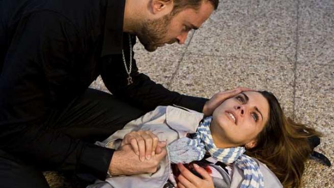 Catalina Marcos fallece en el último episodio de la tercera temporada.