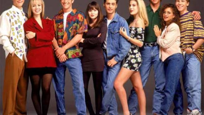 Actores de la primera temporada de 'Sensación de vivir'.