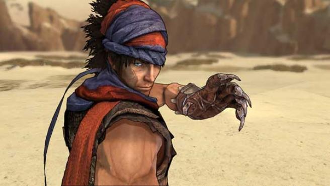 El príncipe de Persia con el aspecto que mostraba en su aventura más reciente.