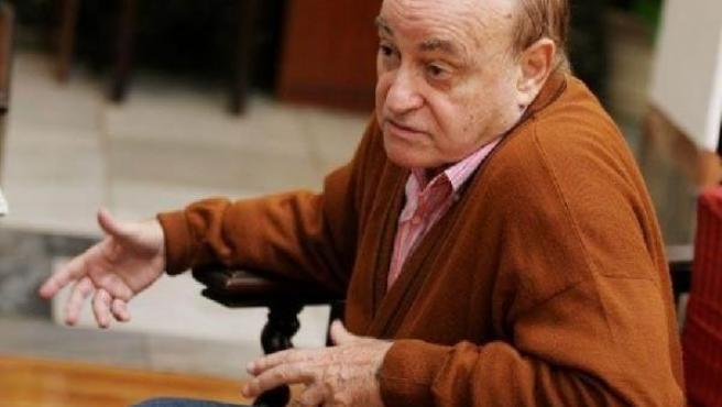 El actor, director y guionista Paul Naschy.