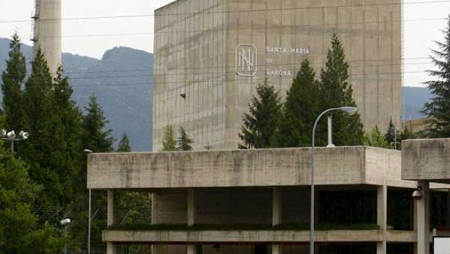 Fotografía de archivo de la central nuclear de Santa María de Garoña (Burgos).