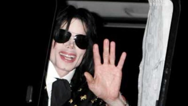 El cantante Michael Jackson.