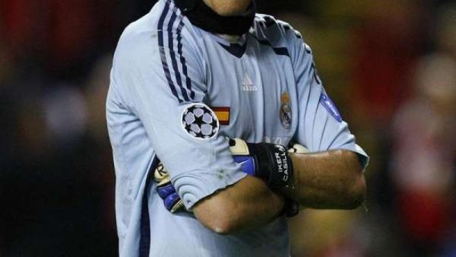 Iker Casillas, guardameta del Real Madrid.