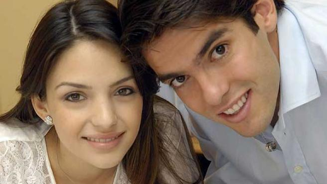 Caroline Celico y Kaká, en una imagen de archivo.